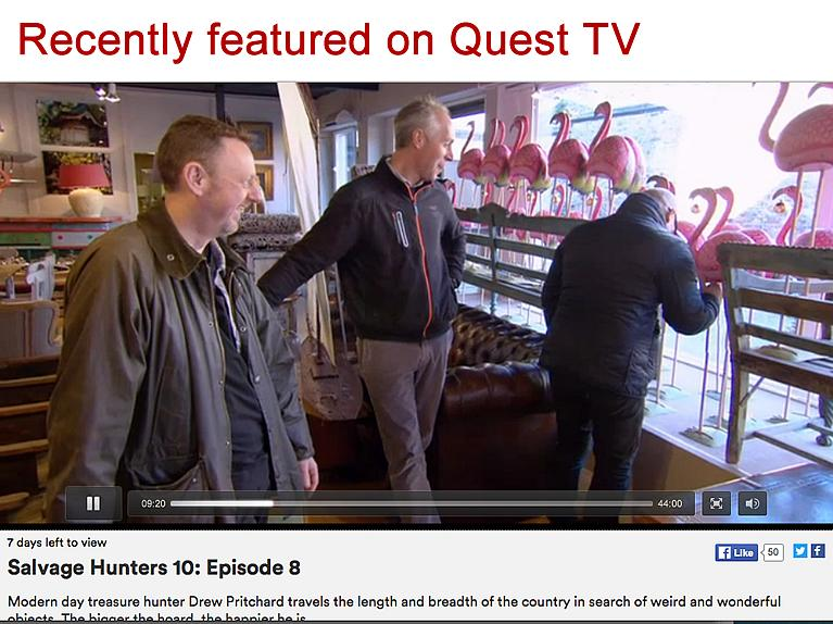 As featured on Qurst TV with DREW  PRITCHARD