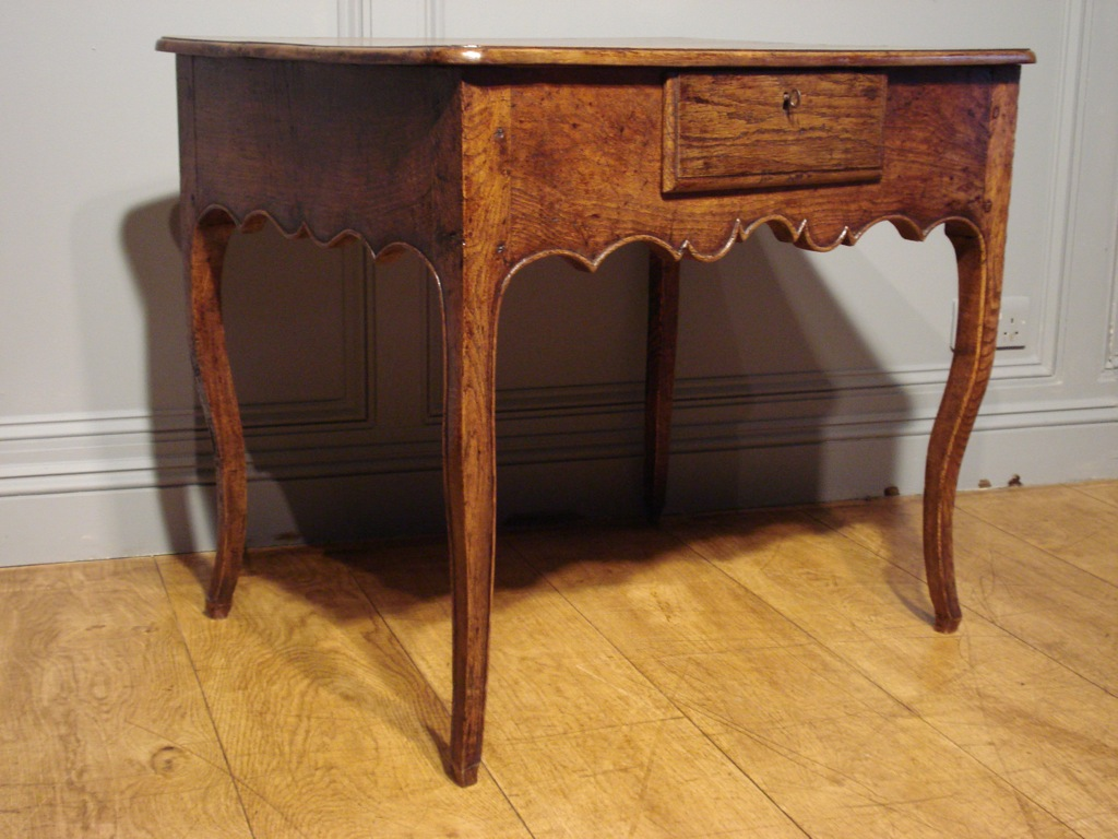 SOLD/18C FRENCH OAK TABLE