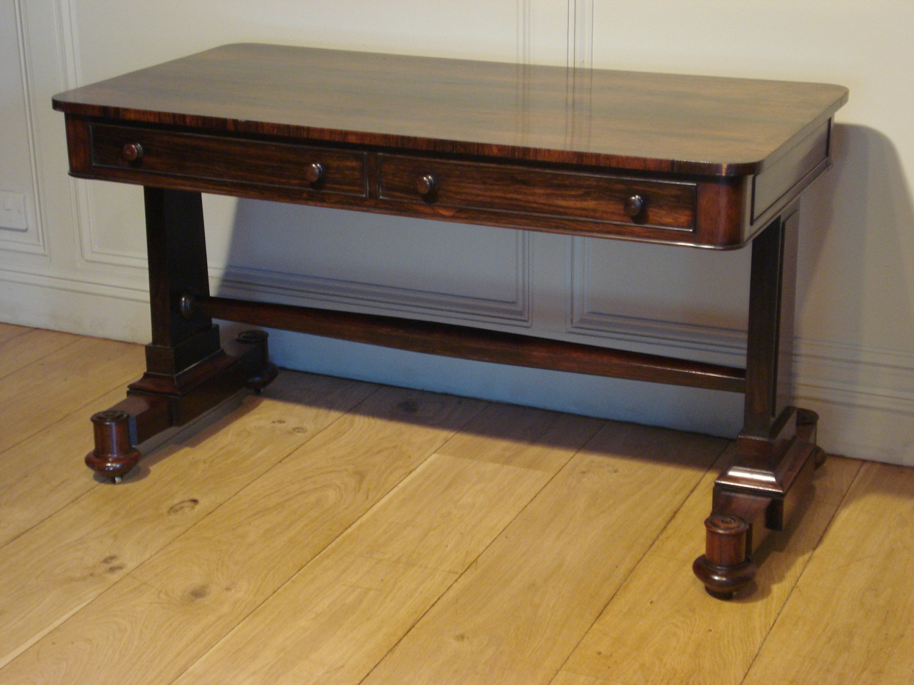 SOLD/19TH CENTURY ROSEWOOD WRITING TABLE