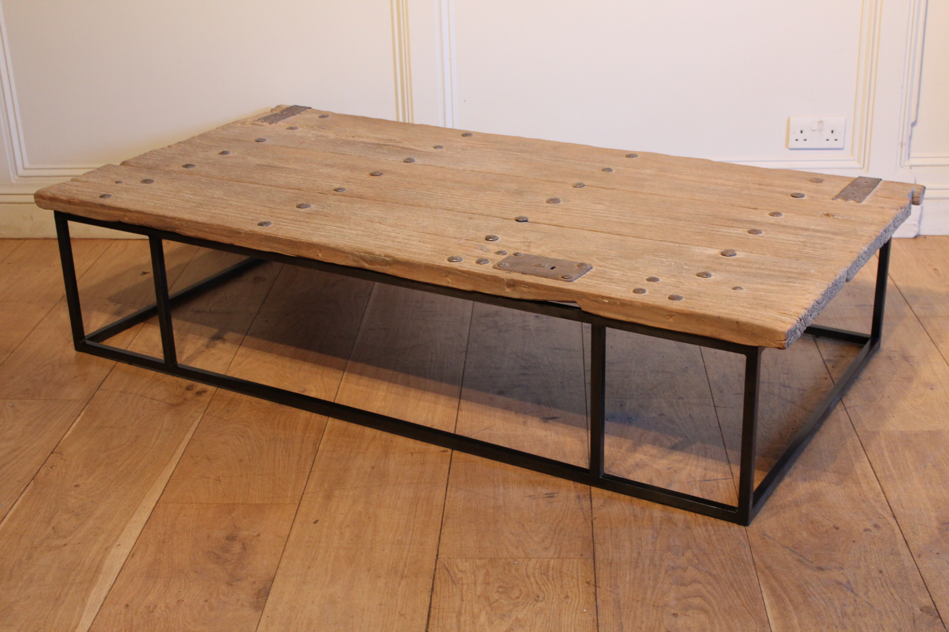 SOLD/ANTIQUE COFFEE TABLE