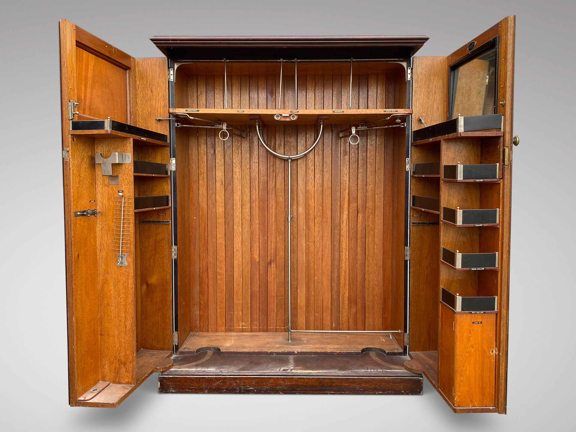 SOLD/ART DECO COMPACTUM FITTED WARDROBE